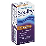 Bausch & Lomb Soothe Eye Drops, Lubricant, Hydration, 0.5 fl oz (15 ml)
