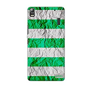 Gobzu Printed Back Covers for Lenovo A7000 - Paper Green