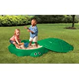 Little Tikes - Turtle Sandbox (Sandpit) Green With Lidby Little Tikes