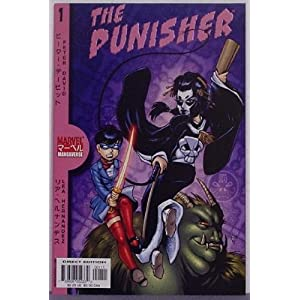Punisher Marvel Mangaverse | RM.