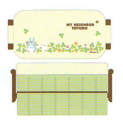 [Totoro] women's insulated two-lunch box YZW3IC ★ clover ★ ☆ kitchen tools ☆