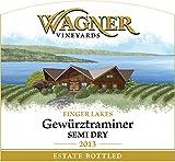 2013 Wagner Vineyards Gewurztraminer Semi Dry 750 mL White Wine