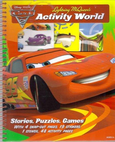Disney Pixar Cars 2 Lightning McQueen's Activity World - 1