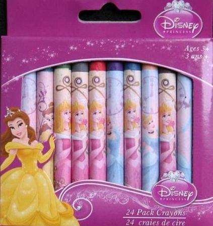 Disney Princess 24 Pack Crayons - 1