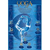 Yoga Postures & Chakras Poster