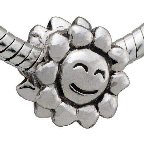 Pandora Chamilia Biagi Compatible Sun Smile Charm Bead