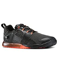 Reebok Mens Crossfit Nano Pump Fusion in Black Peach Orange Size 9.5