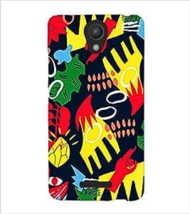 Fuson Premium Grafitti Printed Hard Plastic Back Case Cover for Xiaomi Redmi Note 2