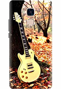 Noise Designer Printed Case / Cover for Honor 5C / Nature / Guitar Design