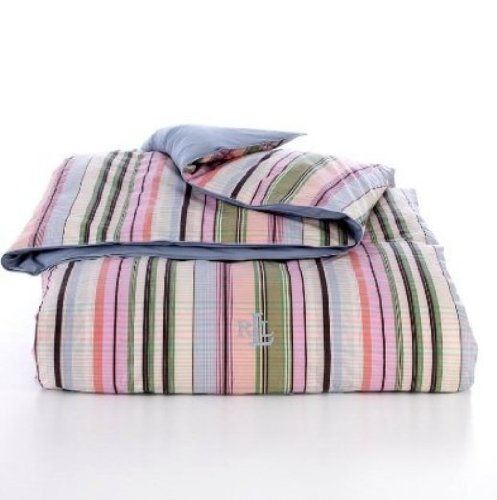 Lauren By Ralph Lauren Bedding; Martha'S Vineyard Pastel Plaid Down Alternative Comforter, Twin