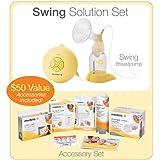 Medela Electric Breastpump - Swing Set w/ Free Accessories