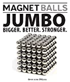 Magnet Balls Jumbo Edition - Bigger. Better. Stronger. 216pc 6mm Jumbo Magnets in Collector's Tin