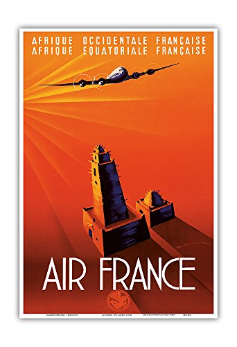 french-west-africa-french-equatorial-africa-air-france-vintage-airline-travel-poster-by-edmond-mauru