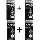 Epson M100 /M200 CISS BLACK INK COMBO PACK 4 PEC
