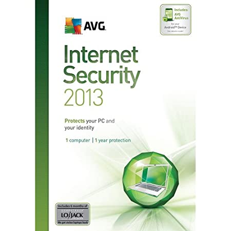 AVG Internet Security 2013 - 1 User 1 Year