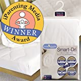 Living Textiles Baby Smart-Dri Waterproof Mattress Pad – Cradle – White Picture