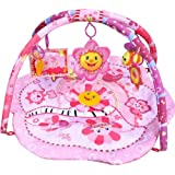 Musical Baby Girl Activity Pink Flower Party Play Mat Gym Playmat