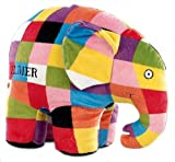 Elmer the Patchwork Elephant Large Plush by Kids Preferred by Kids Preferred TOY