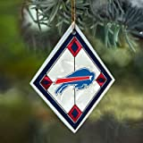 Buffalo Bills Stained Glass Ornament