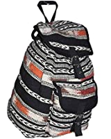Womens Canvas Oilcloth Backpack Ladies Girls Rucksack School Bag College Overnight Flight Cabin Shoulder Handbag Owl Butterfly Polka Dot Dragonfly designs CB151 LeisureGear uk