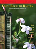 The Young Pianist's Library, 1A: From Bach to Bartok