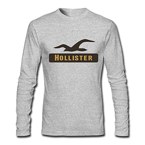 New Hollister For 2016 Mens Printed Long Sleeve tops t shirts