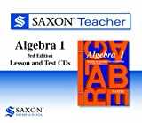 Saxon Algebra 1: Homeschool Teacher CD-ROM Package Third Edition 2008
