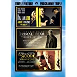 The Italian Job / Primal Fear / The Score - Triple Featureby Mark Wahlberg
