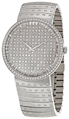 Christian Dior Women's CD043111M003 La D De Dior Stainless-Steel Bracelet Watch