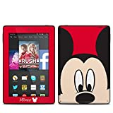 Mickey Face Design Protective Decal Skin Sticker for Amazon Kindle Fire HD 7 inch 2014 (High Gloss)