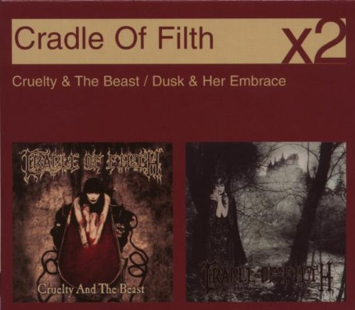 Cradle Of Filth Dusk Her Embrace CD Covers