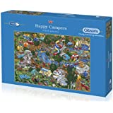 Gibsons Happy Campers Jigsaw Puzzle (1000 Pieces)