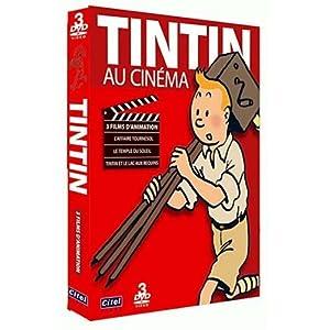 Coffret Tintin au cinéma - L'affaire Tournesol, Le Temple du Soleil, Le la