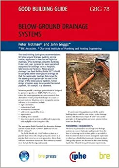 Below ground drainage systems peter trotman for Below ground drainage systems explained