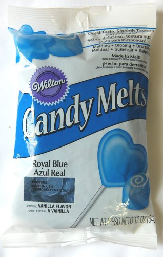 Read About Wilton 1911-4320 Candy Melts, 12-Ounce, Royal Blue
