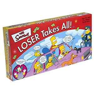 Click to buy Simpsons board game: Loser Takes All from Amazon!