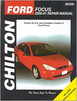 ford focus 2000 2001 chilton 39 s total car care repair. Black Bedroom Furniture Sets. Home Design Ideas