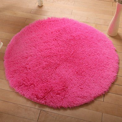 80Cm European Style Round Can Be Washed Computer Chair Mat Bedroom Yoga Fitness Mats front-458093