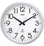 MAG (マグ) ウォールクロック 電波時計 ウェーブ420 W-462 SM (銀メタリック)