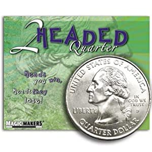 Magic Makers Two Headed Quarter