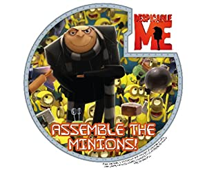 Despicable Me Minions Edible Cupcake Toppers Decoration