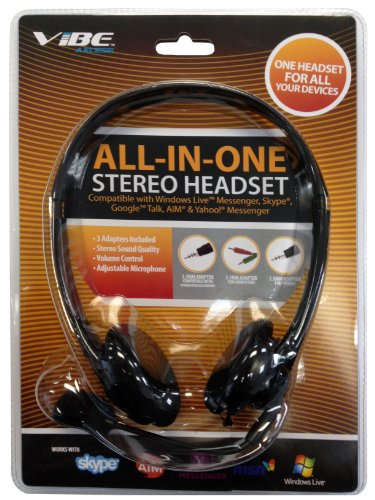 Vibe Axcess All-In-One Stereo Headset