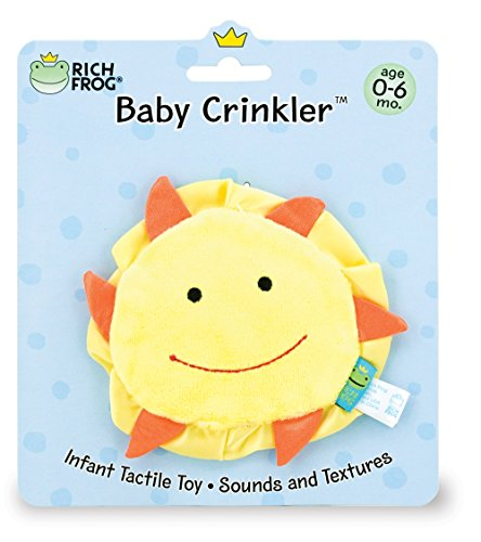 Rich Frog Baby Crinkler Sun