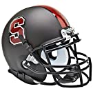 STANFORD CARDINAL NCAA Schutt XP Authentic MINI Football Helmet (MATTE BLACK)