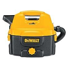 DEWALT DC500 2-Gallon 12-to-18-Volt Cordless/Corded Wet/Dry Vacuum