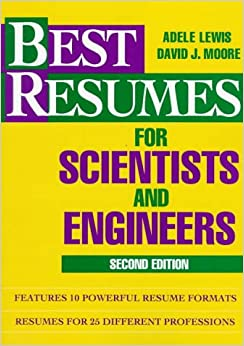 best resumes for scientists and engineers adele lewis