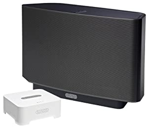 Sonos Play:5 All-In-One Music Player with Bridge Setup Solution (S5 Black, BR100) (Discontinued by Manufacturer)
