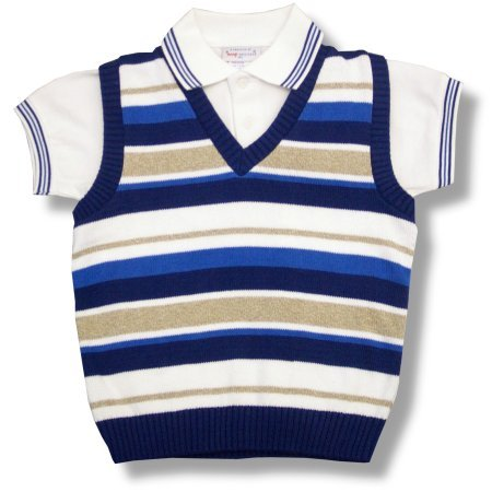 Buy Imp Originals Boys 8-14 Sweater ~ Blue Stripe