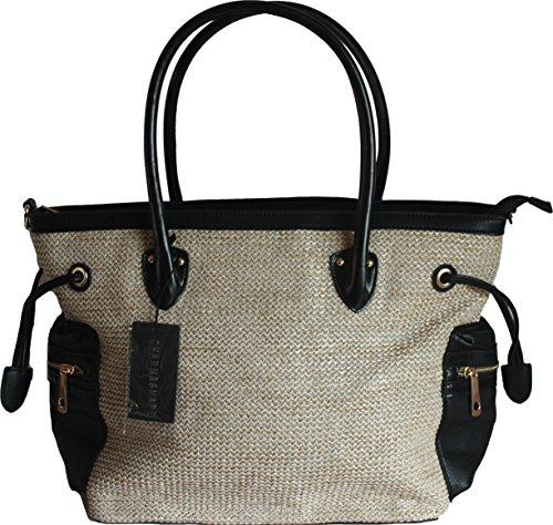 H&G Ladies Designer Tote \ spalla borsa \Shopping di fascino & forma - Italia