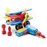 Battat Take-A-Part Airplane (Colors may vary) ~ Battat